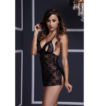 Baci Floral Lace Sort Babydoll