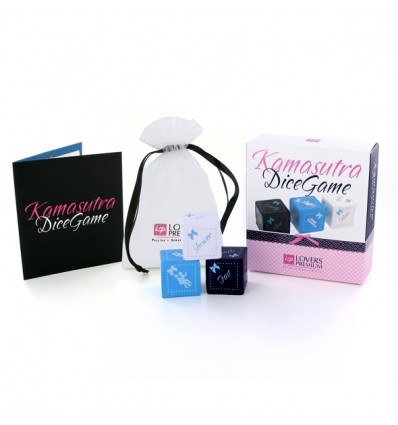 LoversPremium Kamasutra Dice Game Sex Terninger