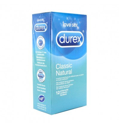 Durex Classic Natural Kondomer